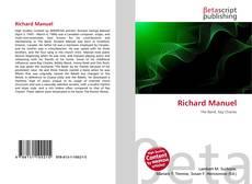 Portada del libro de Richard Manuel