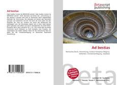 Buchcover von Ad bestias