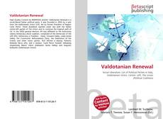 Bookcover of Valdotanian Renewal
