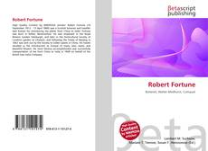 Bookcover of Robert Fortune