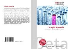Buchcover von Purple Bacteria