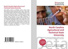 Buchcover von North Carolina Agricultural and Technical State University