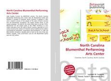 Обложка North Carolina Blumenthal Performing Arts Center