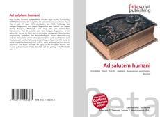 Bookcover of Ad salutem humani