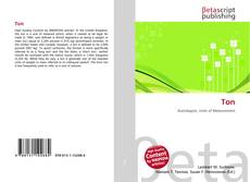Bookcover of Ton