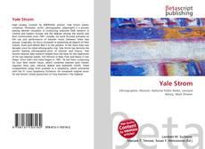 Borítókép a  Yale Strom - hoz