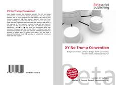 Bookcover of XY No Trump Convention