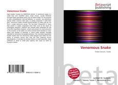 Venomous Snake kitap kapağı