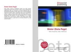 Copertina di Water (Data Page)