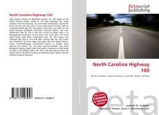 Buchcover von North Carolina Highway 160