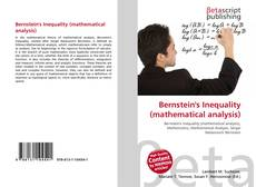 Bookcover of Bernstein's Inequality (mathematical analysis)