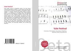 Bookcover of Vale Festival