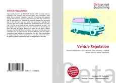 Couverture de Vehicle Regulation