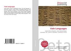 Bookcover of Vale Languages