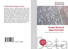 Buchcover von Simple Rational Approximation