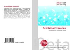 Bookcover of Schrödinger Equation