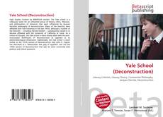 Bookcover of Yale School (Deconstruction)