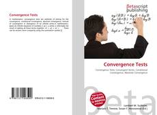 Bookcover of Convergence Tests