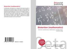 Bookcover of Distortion (mathematics)
