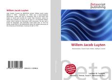 Bookcover of Willem Jacob Luyten