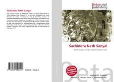 Bookcover of Sachindra Nath Sanyal