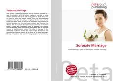 Buchcover von Sororate Marriage