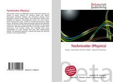 Bookcover of Technicolor (Physics)