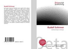 Bookcover of Rudolf Schirmer