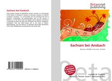 Bookcover of Sachsen bei Ansbach
