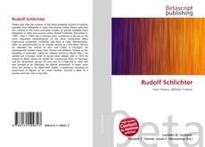 Capa do livro de Rudolf Schlichter