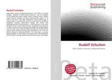 Обложка Rudolf Schulten