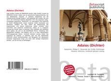 Buchcover von Adaios (Dichter)