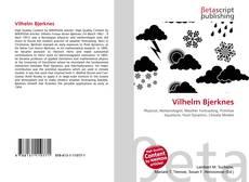 Bookcover of Vilhelm Bjerknes