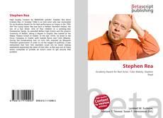 Copertina di Stephen Rea