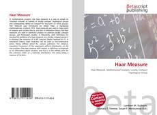 Bookcover of Haar Measure