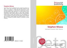 Bookcover of Stephen Mizwa