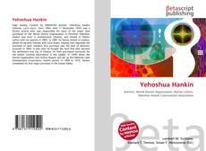 Borítókép a  Yehoshua Hankin - hoz