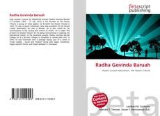 Capa do livro de Radha Govinda Baruah