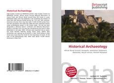 Historical Archaeology的封面