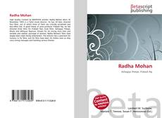 Bookcover of Radha Mohan