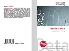 Copertina di Radha Mohan