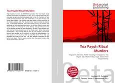 Capa do livro de Toa Payoh Ritual Murders