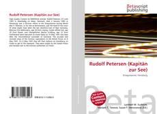 Portada del libro de Rudolf Petersen (Kapitän zur See)