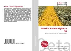 Portada del libro de North Carolina Highway 98