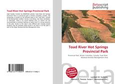 Toad River Hot Springs Provincial Park kitap kapağı