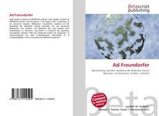 Portada del libro de Ad Freundorfer