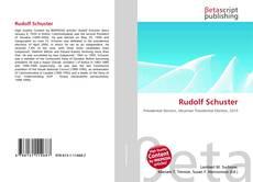 Bookcover of Rudolf Schuster