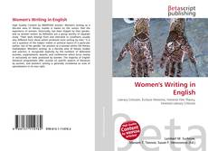 Bookcover of Women's Writing in English