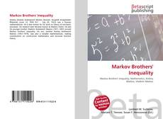 Bookcover of Markov Brothers' Inequality