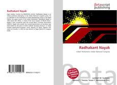 Bookcover of Radhakant Nayak
